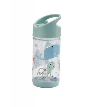Sugarbooger Sugarbooger Flip & sip beker Ocean 350 ml