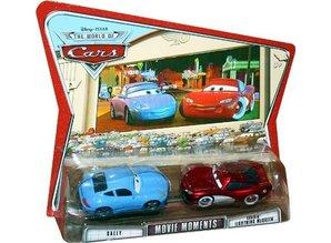 Mattel Movie Moments - Sally & Cruisin' Lightning McQueen