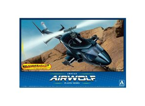 Aoshima Airwolf 1/48 Plastic Model