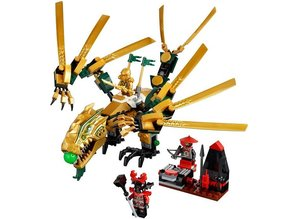 Lego Ninjago 70503 - The Golden Dragon (damaged box)