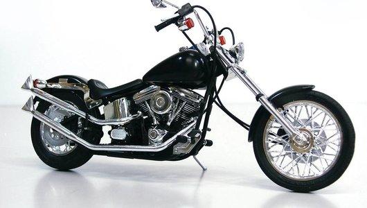 V-Twin Custom Ghost Rider 1/12 Bike