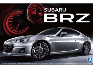 Aoshima Subaru BRZ `12 S Grade 1/24 The Best Car GT
