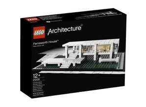 Lego Architecture 21009 Farnsworth House (beschädigter Box)