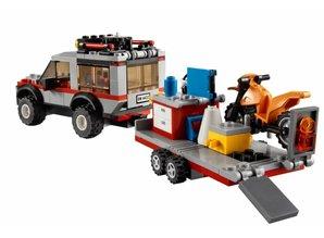 Lego City 4433 - Crossbike Transporter (beschädigter Box)