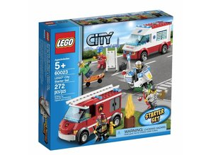 Lego City 60023 - Starter Set (damaged box)