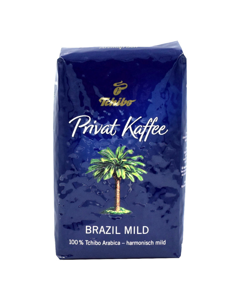 Tchibo Tchibo Privat Kaffee Brazil Mild - Coffee Beans 500gr