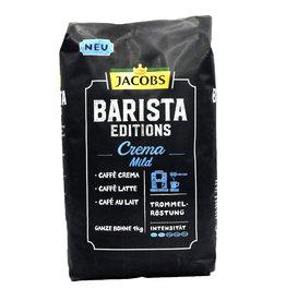 Jacobs Jacobs Barista editions Crema Mild 1 kilo ganze Bohne