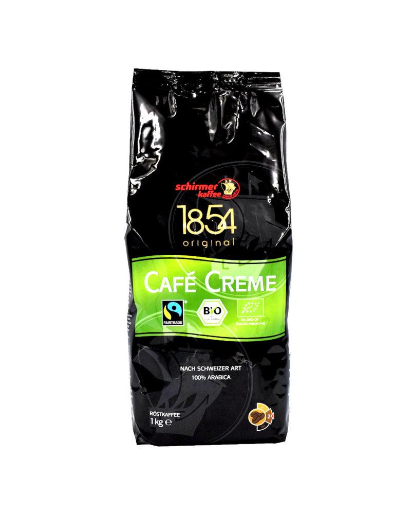 Schirmer Kaffee Schirmer Cafe Creme fair trade en bio koffiebonen 1 Kilo