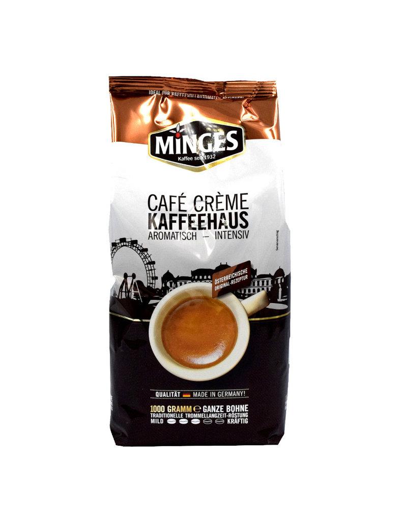 Minges Cafe Creme Kaffeehaus - koffiebonen 1 kilo