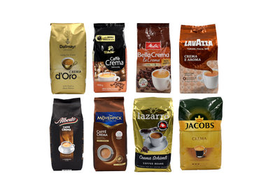 Test package Coffee Beans
