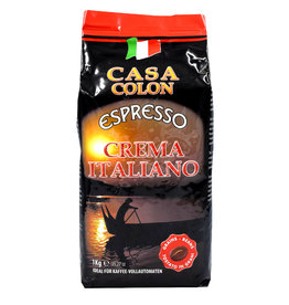 Schirmer Kaffee Casa Colon Espresso Crema Italiano 1 Kilo Bohnen