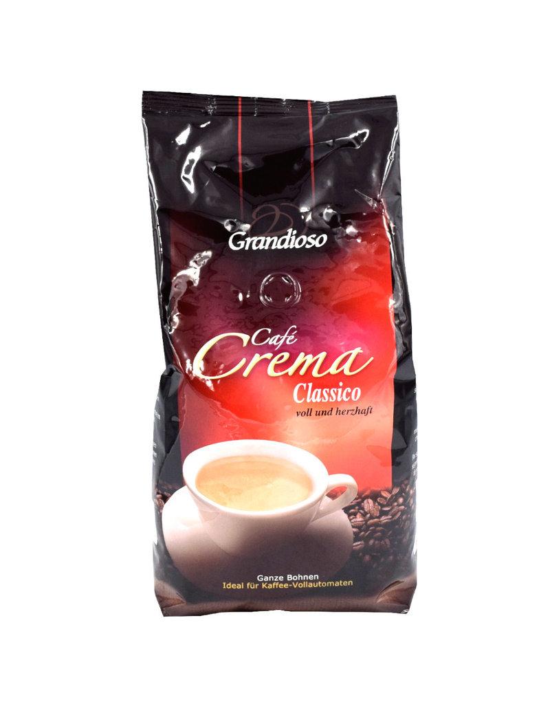 Grandioso Cafe Crema Classico 1 kilo ganze Bohne