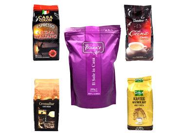 Verschiedene Kaffeebohnen