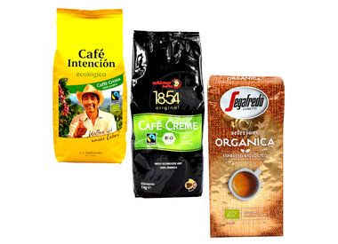 Bio / Fairtrade Kaffeebohnen