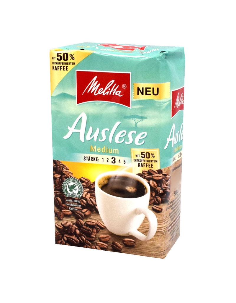 Melitta Melitta Auslese Medium - 500gr - filterkaffee - Box
