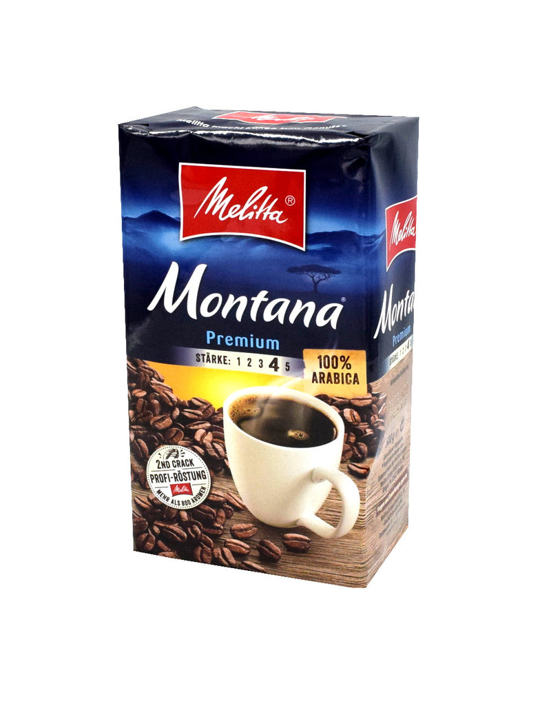 Melitta Melitta Montana premium Filterkaffee, 500g