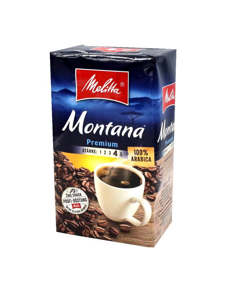 Melitta Melitta Montana premium Filterkaffee, 500g - Karton