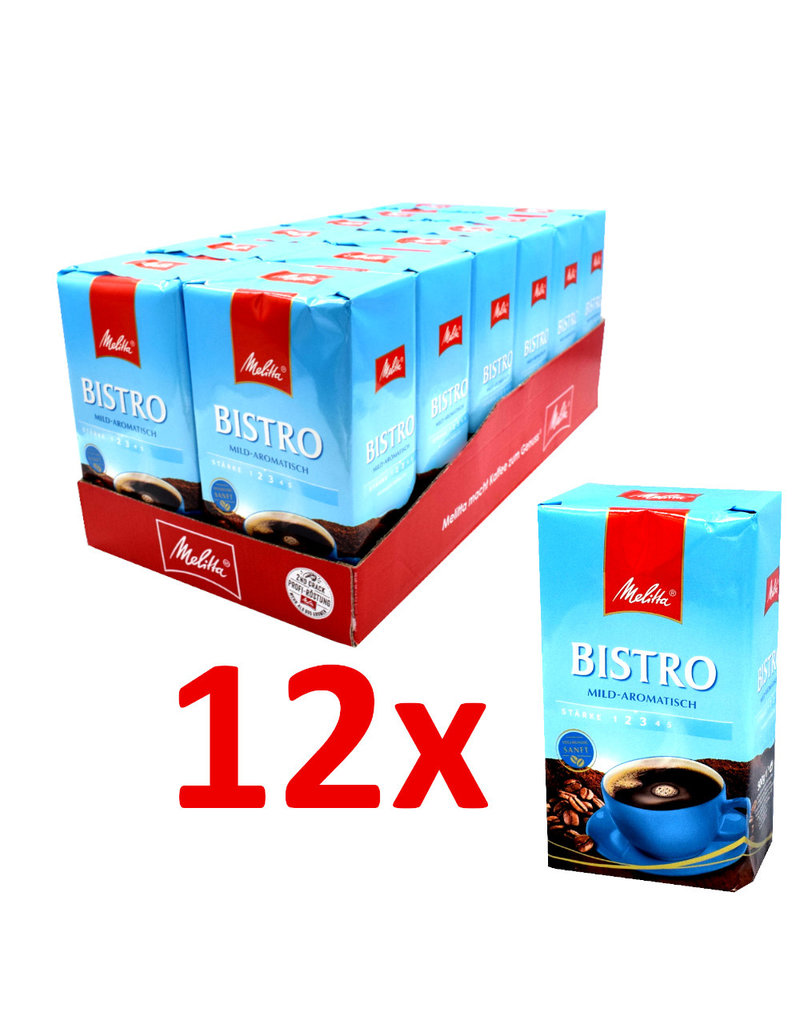 Melitta Melitta Bistro mild aromatisch 500gr - Doos