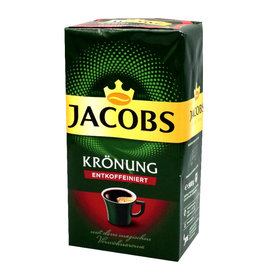 Jacobs Jacobs Kronung Cafeïnevrij 500gr