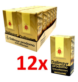 Dallmayr Dallmayr Prodomo decaffeinated 500 gram. - Box