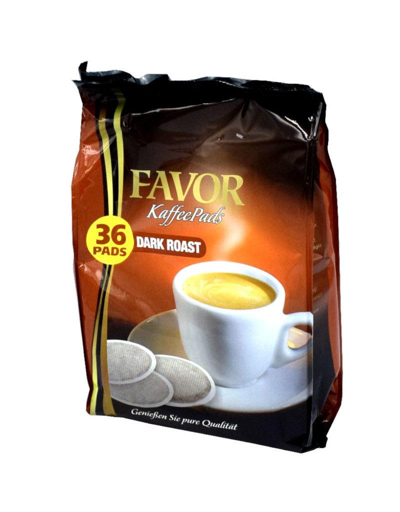 Favor Dark Roast 36 Pads - Karton