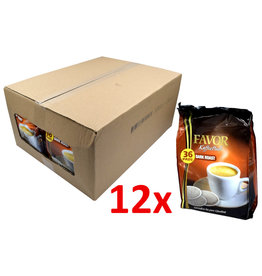 Favor Dark Roast 36 Pads - Box