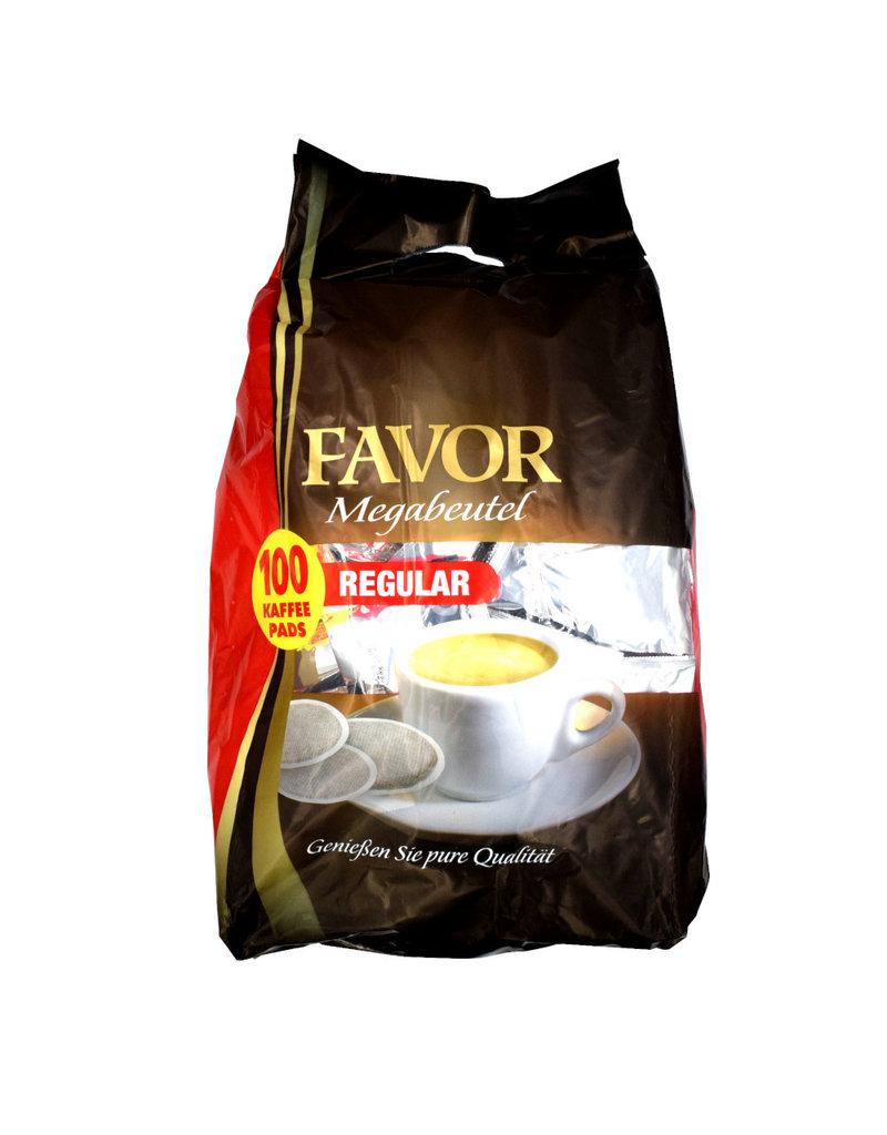 Favor Megabeutel Normale Rostung 100 Kaffeepads