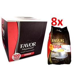 Favor Regular megazak 100 pads - Doos