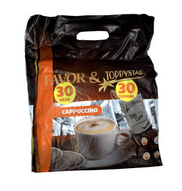 Favor Megabeutel Cappuccino Kaffeepads (pad + topping)