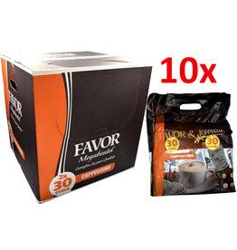 Favor Megabeutel Cappuccino Kaffeepads (pad + topping) - Karton