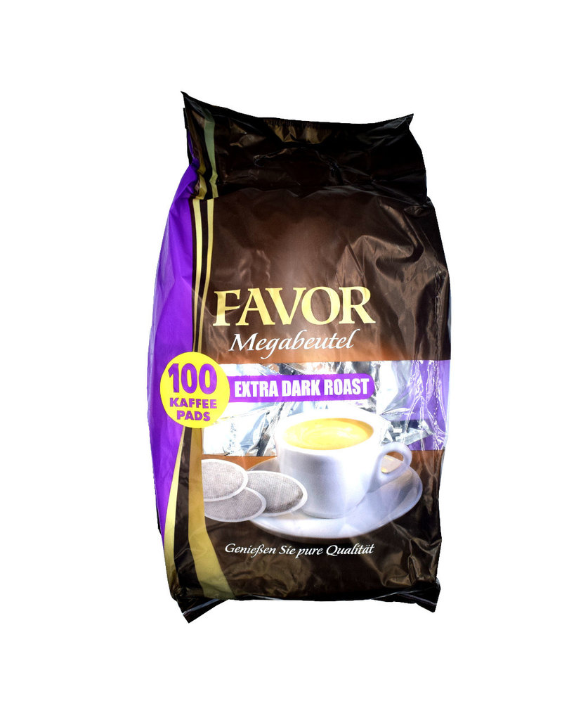 Favor koffiepads Extra Dark Roast Megabeutel