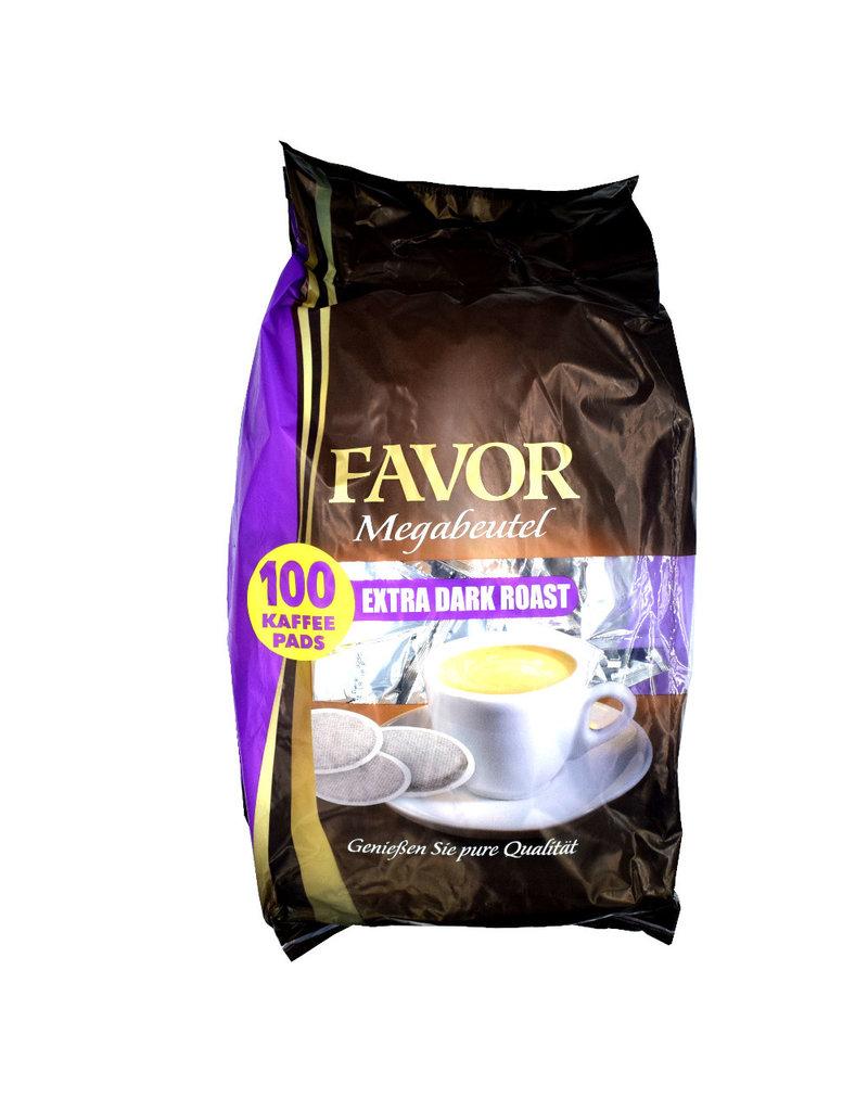 Favor koffiepads Extra Dark Roast Megazak - Doos
