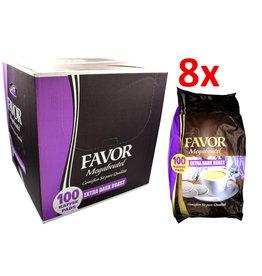 Favor koffiepads Extra Dark Roast Megabeutel - Karton