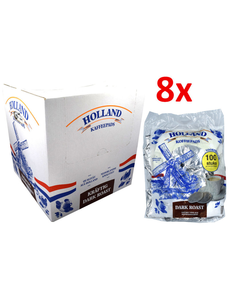 Holland Pods Mega Bag Dark Roast - Box