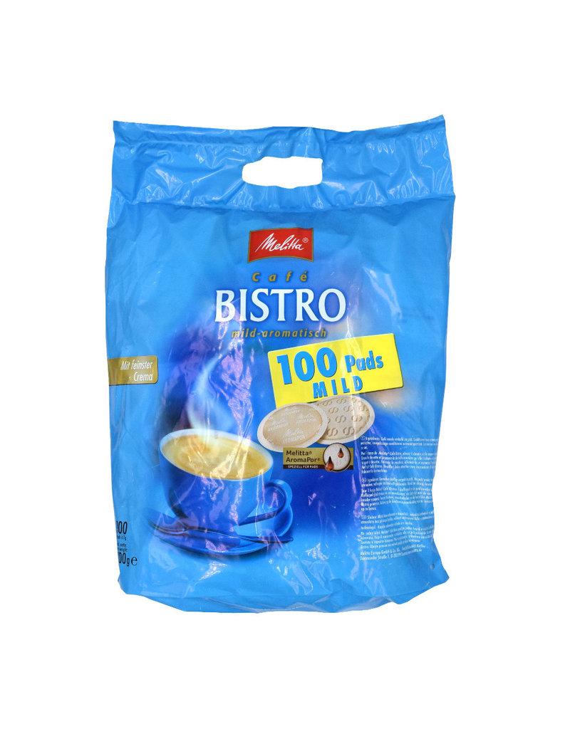 Melitta Melitta Bistro Mild-aromatisch 100 Pads - Karton