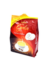 Eduscho Eduscho Gala Caffe Crema 32 Koffiepads - Doos
