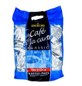 Eduscho Eduscho Cafe a la carte Classic mild 100 koffiepads