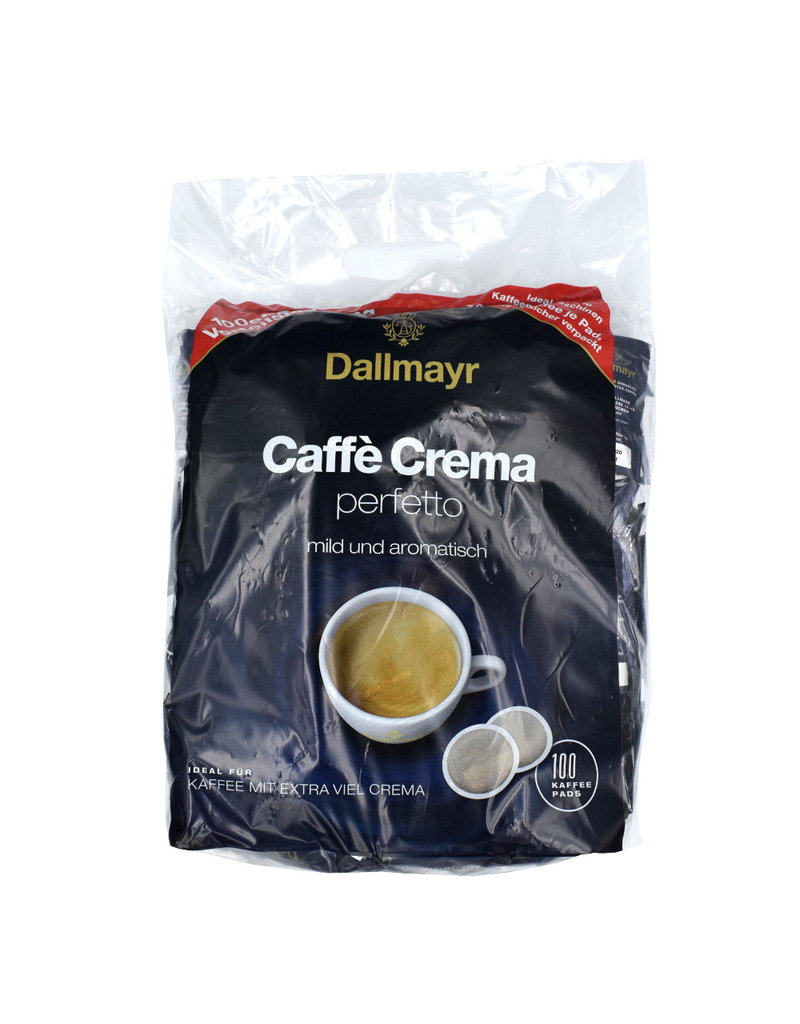 Dallmayr Dallmayr Caffè Crema Perfetto Pads Megabeutel