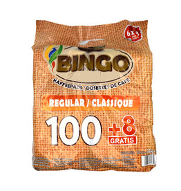 Bingo Bingo Coffee Pods Regular - 108 pads