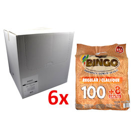 Bingo Bingo Coffee Pods Regular - 108 pads - Box