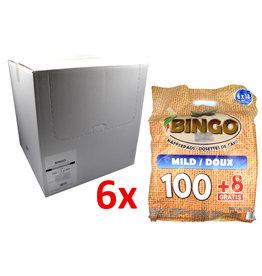 Bingo Bingo Koffiepads Mild - 108 Pads - Doos
