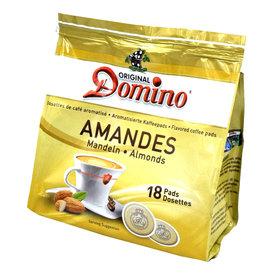 Domino amandel smaak 18 koffiepads