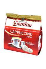 Domino Cappuccino crema 18 koffiepads