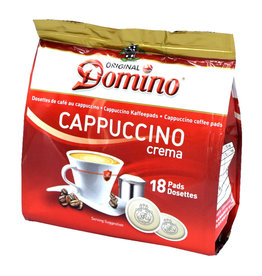 Domino Cappuccino crema 18 Coffee Pods