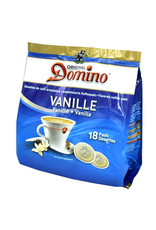 Domino Kaffeepads Vanille 18 Pads