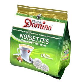 Domino koffiepads hazelnoot 18 Pads