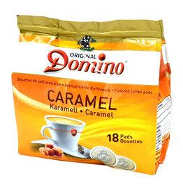 Domino koffiepads Caramel 18 Pads