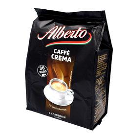 J.J. Darboven Kaffee Alberto Caffe Crema 36 Coffee Pods