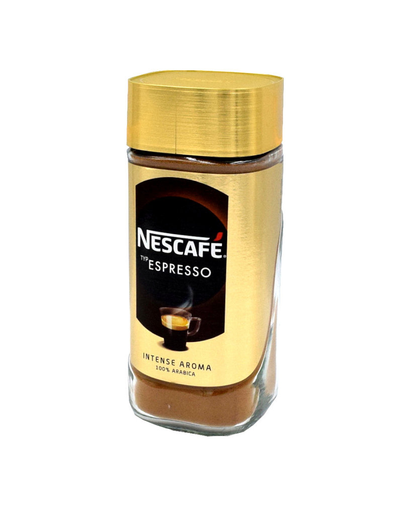 Nescafe Nescafe Espresso Intense Aroma löslicher Kaffee 100% Arabica - 6 pack