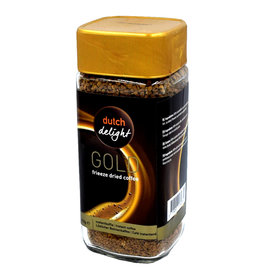 Dutch Delight Gold Löslicher Kaffee - 200 Gramm